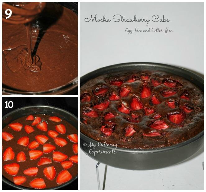 mocha strawberry cake 3