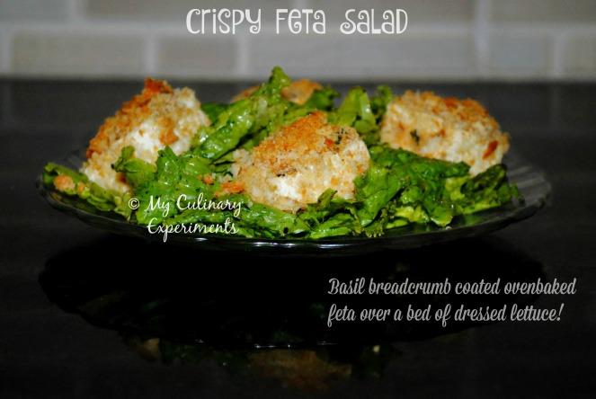 Crispy Feta Salad